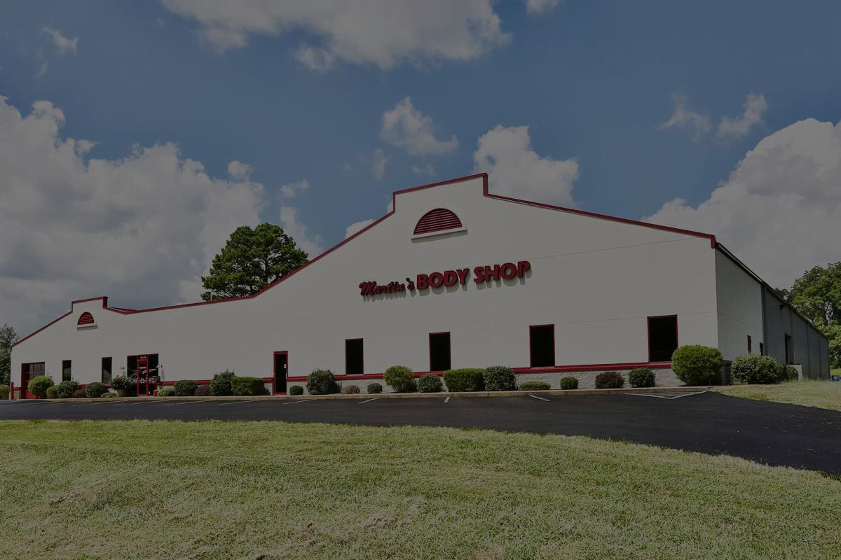 martins Body shop building